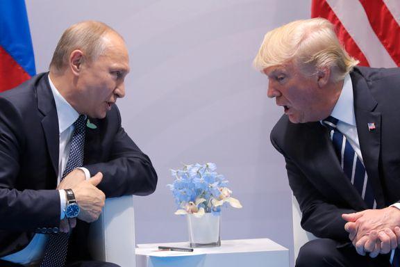 Trump og Putin møttes for første gang. Det ble en maraton.