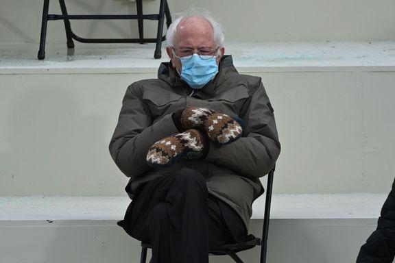 Bildet av Bidens motkandidat tar av på internett