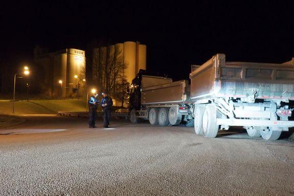 Ruset trailersjåfør pågrepet etter ulykke