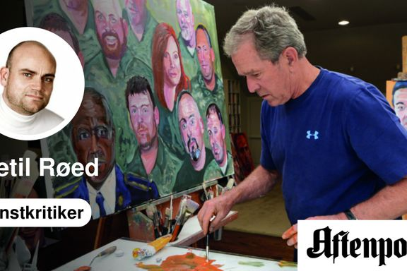 George W. Bush er en overraskende god maler