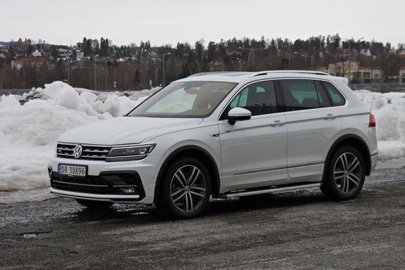 VW Tiguan med stor motor: Føles tam