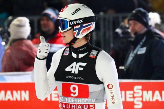 Lindvik ble beste norske på skuffende dag