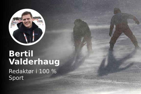 «OL-dagene på Lillehammer blir nesten som en fin vår sammenlignet med været her i Pyeongchang»