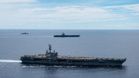 Kina  og  USA  stadig  nærmere  klinsj  i  Sør-Kina-havet,  mener  eksperter