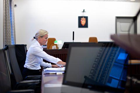 ALVORLIG: Statsadvokat Benedicte Hordnes var aktor i rettssaken mot faren. Hun sier at saken er svært alvorlig.