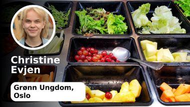 Jeg er sykt stolt av at Oslo innfører gratis og kjøttfri skolemat