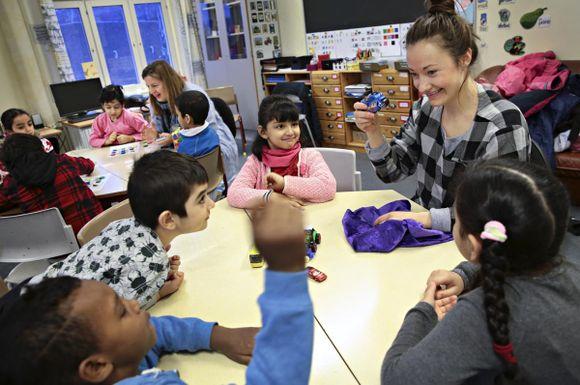 3c87b7a5d På denne skolen ønskes elevene velkommen på 36 forskjellige språk