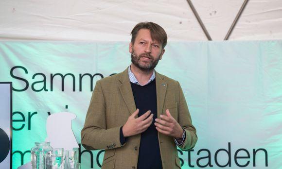 b4aa1f61 Høyre-topp Eirik Lae Solberg er skeptisk til byrådets forslag til ny  boligpolitikk.