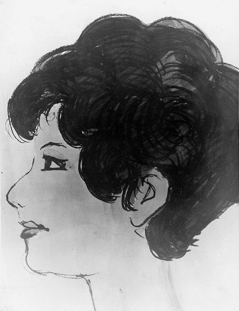 5ad7d47c662 Bildevisning. PROFIL: Audun Hetland laget flere tegninger av Isdalskvinnen.