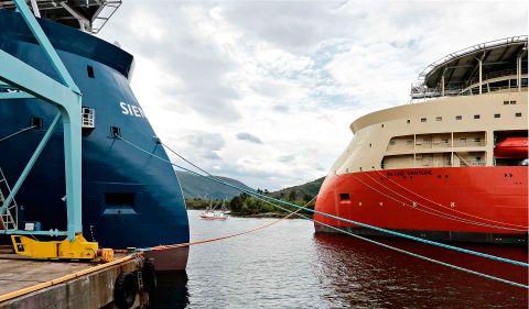SPESIELL: X-Bow fra Ulstein verft har fått mye internasjonal oppmerksomhet siden den helt spesielle skipsbaugen ble lansert første gang.