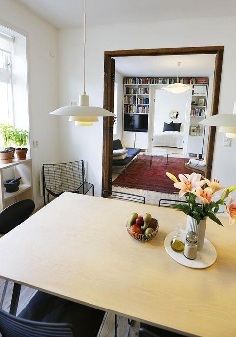 Den lille leiligheten fikk unikt interiør   aftenposten