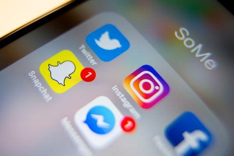TJENER IKKE PENGER: Snapchat tjener ingen penger på appen enda.
