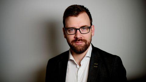 FORKLARER SAKEN: Morten Myksvoll jobber i Bergens Tidende. Han forklarer siste nytt fra Israel-Palestina-konflikten.