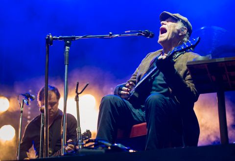THIS IS MY LIFE: Bildet er fra da Kim Larsen spilte i Bergen for tre år siden. Årets konsert på Bastionen 4. august ble avlyst grunnet sykdom.