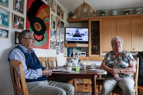 FORELDRE: Ragnar og Tordis Hareide var selv aktive i politikken da de var yngre. Nå er sønnen deres partileder i et av Norges ni stortingspartier.