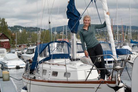 – Å kunne ta hjemmet sitt og stikke av gårde ut på havet med det, gir en utrolig frihetsfølelse, sier Christine Spiten.