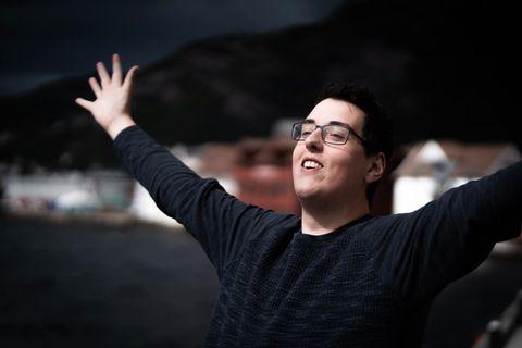 GODE VIBBAR: Preben Fjell ønskjer å vidareføre den glade bodskapen frå «Prebz og Dennis», når han til hausten får eiga sendetid på lokalradiostasjonen 5000 Bergen.