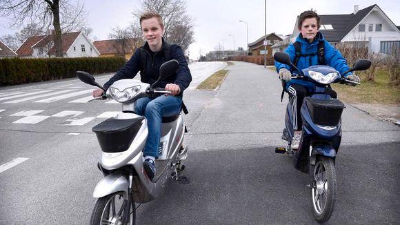 Uvanlig Dette er en sykkel, ikke en scooter - Aftenposten VH-44