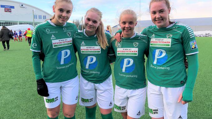4cbb7fb3 Da Celine kom inn startet målfesten for Fløya