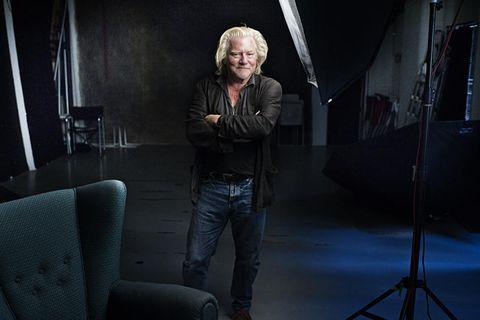 HØYSENSITIV KUNSTNER: Fotograf Morten Krogvold tror alle kunstnere er høysensitive. Selv er han veldig var for lys- og lydinntrykk.