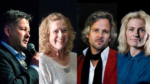 HVA HETER DE EGENTLIG? Bjarne Brøndboe, Liv Ullmann, Ari Behn og Mia Hundvin har alle navn som de ikke bruker til vanlig. ALLE FOTO: Scanpix