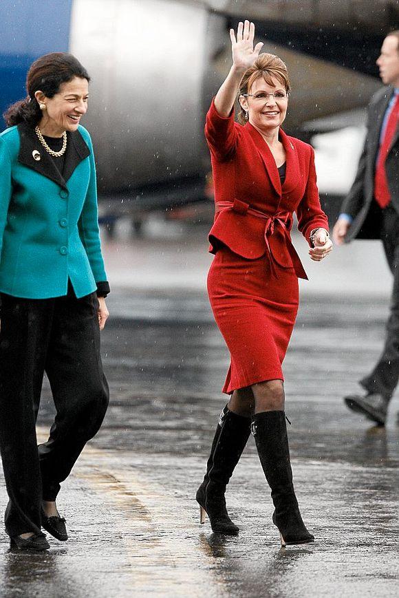 700f0c6a At Palin bruker givernes penger på klær, har skapt store overskrifter i USA.