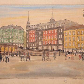 Slik ville kunsteliten fargelegge Oslo i 1927