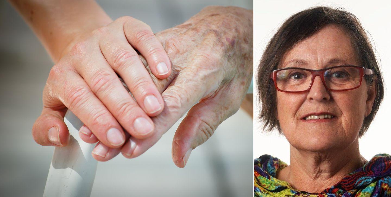 Enslige eldre kvinner