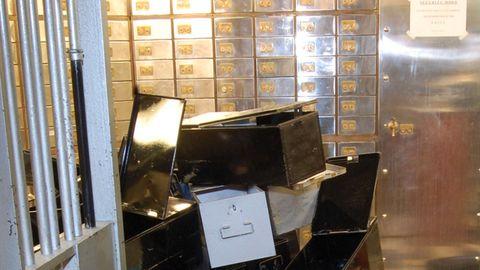 TØMT: Flere års planlegging endte med at 73 bankbokser ble tømt og verdier for mange millioner pund forsvant fra Londons kjente diamantdistrikt Hatton Garden.