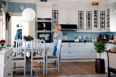 Kjøkkenet er svensk og kjem frå Drømmekjøkkenet.