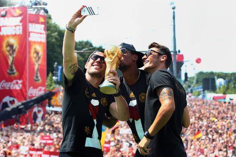 TYSKLAND: Tyskland vant fotball-VM i 2014, men i år røk de ut i gruppespillet.