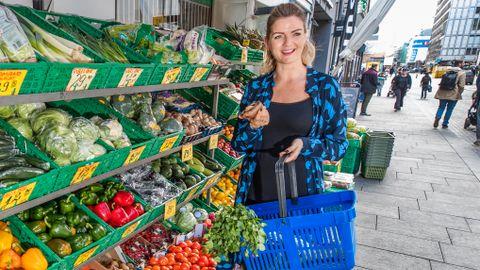 Hanne-Lene Dahlgren mente grønnsaker bare var tilbehør, men så begynte hun å eksperimentere hjemme på kjøkkenet. Nå kaller hun seg selv vegetarentusiast.