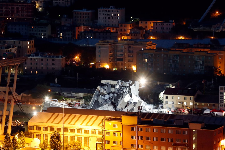 Dødstallet økt til 39 etter brokollaps i Italia