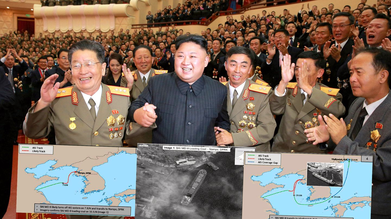 akersgata 16 kart I 12 dager forsvant skipet nær Nord Korea. Slik tjener Kim penger  akersgata 16 kart