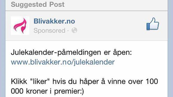 561aef32 Vil stoppe reklame på Facebook - Aftenposten
