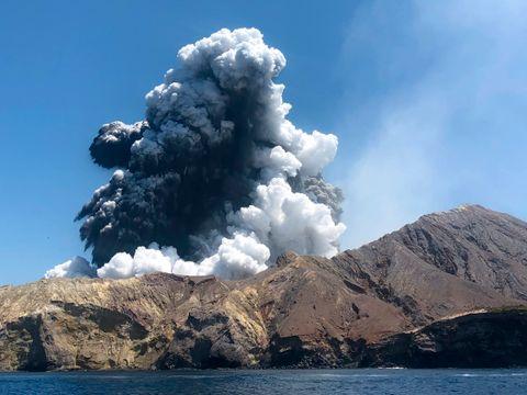 Levninger på vulkanøy på New Zealand hentes fredag