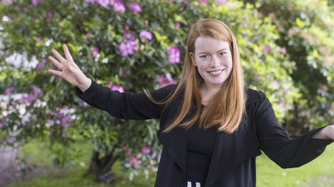 15 ARTISTER KLAR: Hannah Emilie Grung er blant artistene og bandene som ble annonsert til årets Vill Vill Vest-festival.