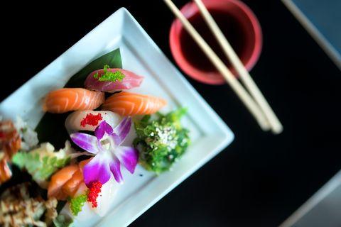 NEDTUR: Anmelderen er ikke fornøyd med hverken servicen eller sushien på Cyclo.