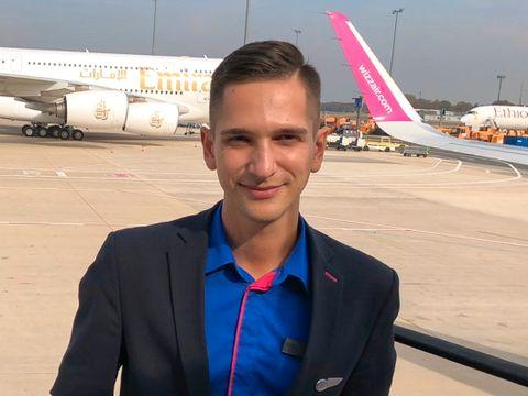 Artem Tryhub (24) mistet uventet jobben i Wizz Air