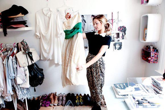 d8b2bec1 Denne kjolen er en av Jennys favoritter blant vintage-kuppene.