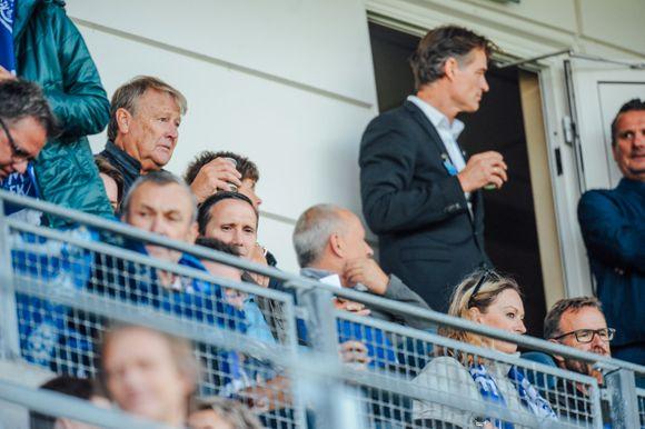 35eb7810 Åge Hareide er ofte på MFK-kamp når han er hjemme i Molde. Her er han på  Aker stadion under Moldes møte mot Rosenborg i fjor.