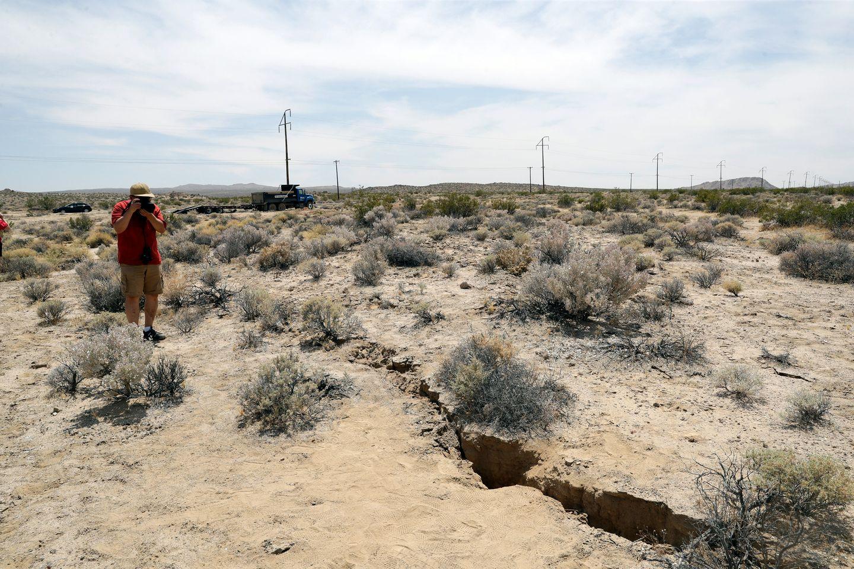 Bevegelser i jordskjelvforkastning i California skaper bekymring