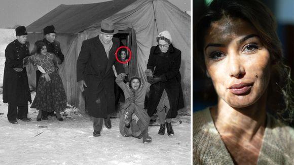 62e2de96 Lille julaften 1955 kom norsk politi og barnevern og tok med seg moren til  Safira Josef (33)