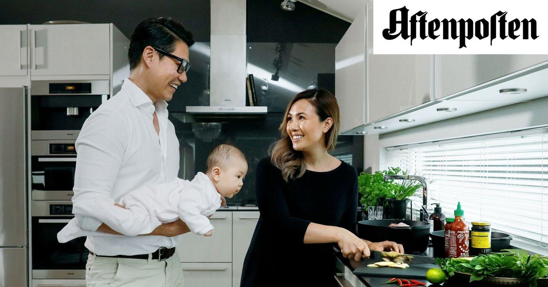 På dagtid har Gin og Alexander kontorjobber. På fritiden driver de vietnamesisk street food-restaurant