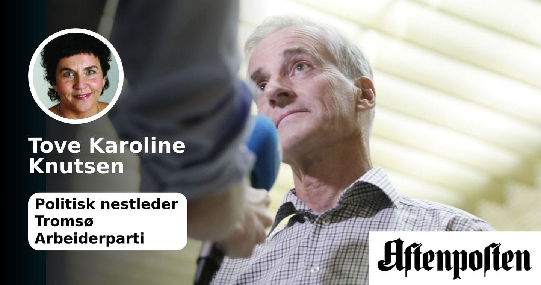 Paradoksal og latterlig kritikk av Jonas Gahr Støres fond: Burde høste respekt, ikke mistro. | Tove Karoline Knutsen