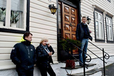 TUNG TID: Etter at sønnen Espen Davidsen og familien hans flyttet fra nabohuset, har Ursula og Terje Davidsen bestemt seg for å selge hjemmet sitt.