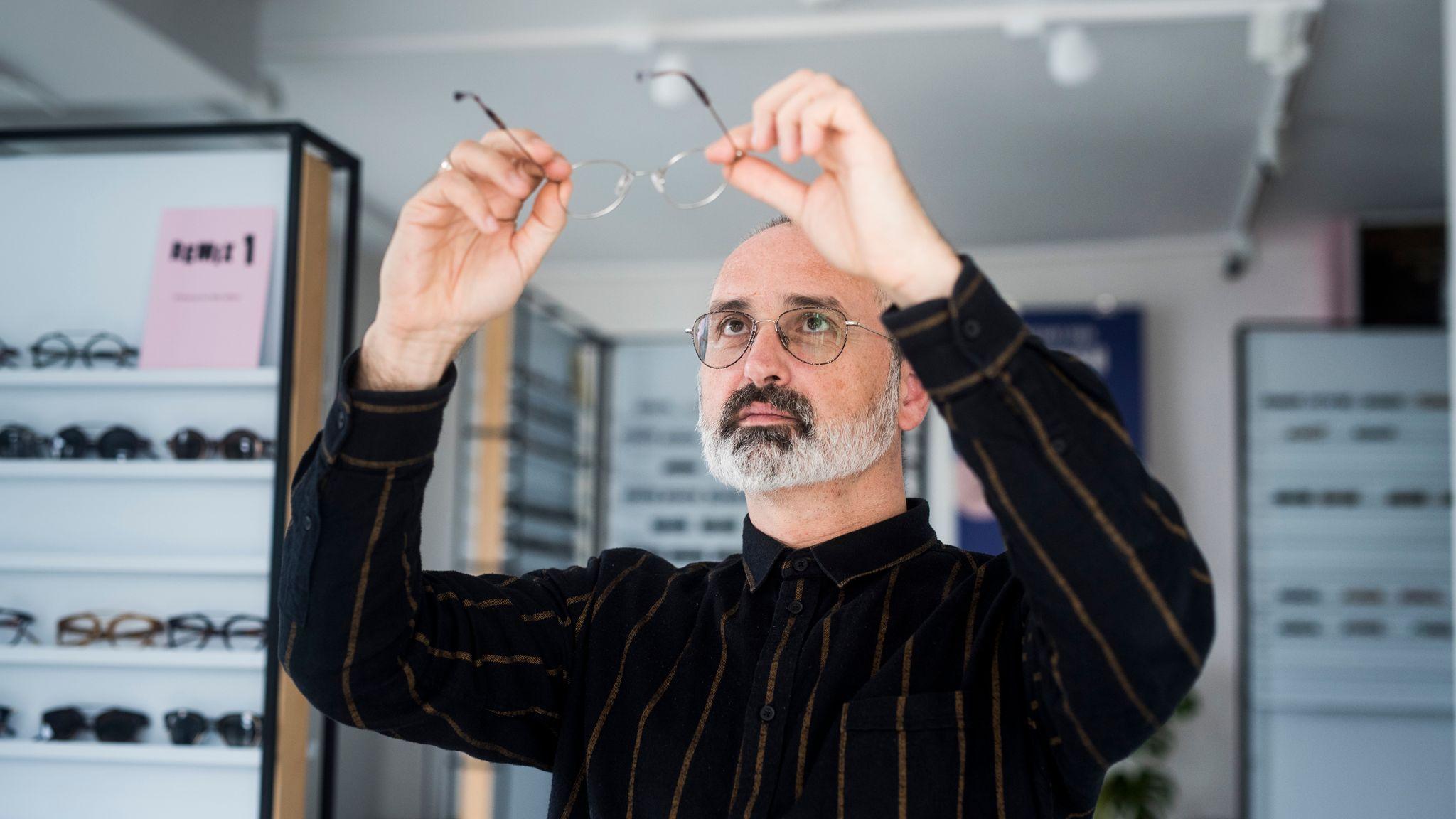 5e5cecc82ac3 Han vil forandre folks syn på briller - Stavanger Aftenblad