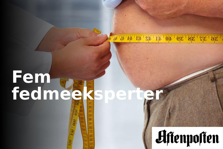 Det er mindre mat, ikke trening, som er effektivt mot fedme | Fem fedmeeksperter