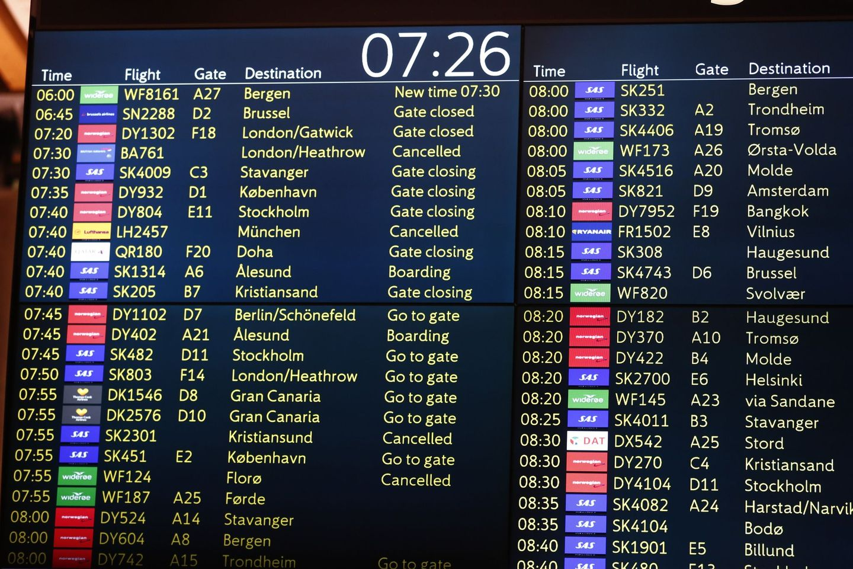 SAS kansellerer 45 flyvninger fra Oslo – pilotene har sagt nei til meglers forslag