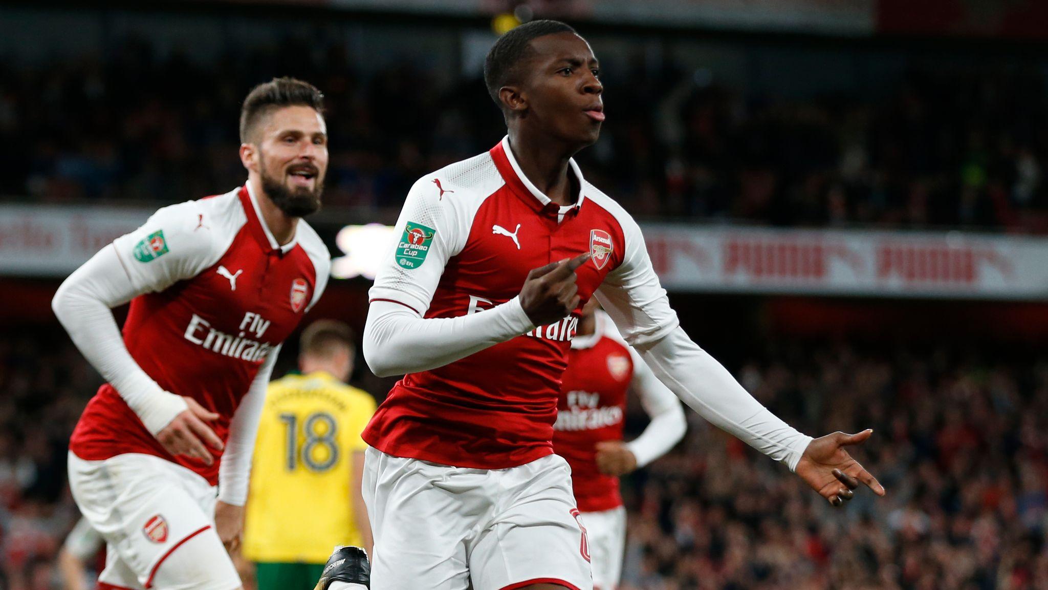 fefb0405 Arsenal var fem minutter unna pinlig cup-exit. Så satte Wenger inn en  18-åring. - Stavanger Aftenblad